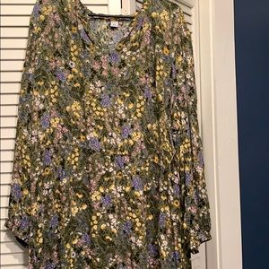 Floral Old Navy dress NWT